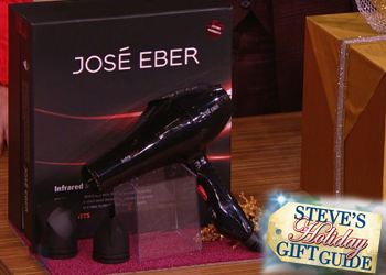 Jose Eber Hair featured on Steve Harvey TV Show!
