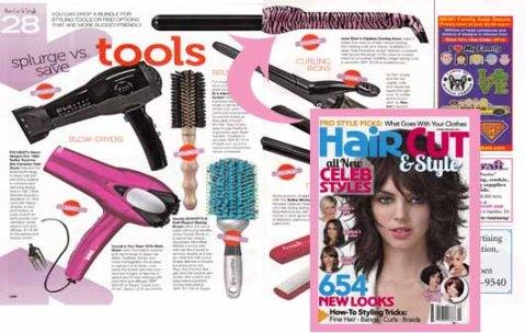 Jose Eber Hair in HairCut & Style Magazine!