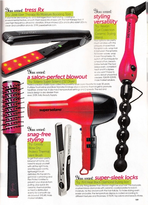Therapy Rx in Hair Magazine