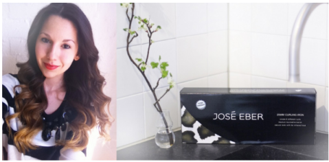 Laura raves about the Jose Eber Clipless Curling Iron
