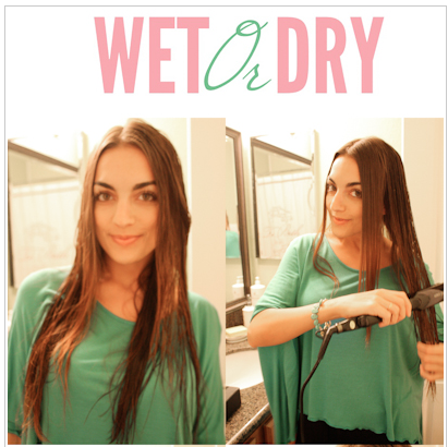 Olia reviews and gives away a Wet or Dry Flat Iron!