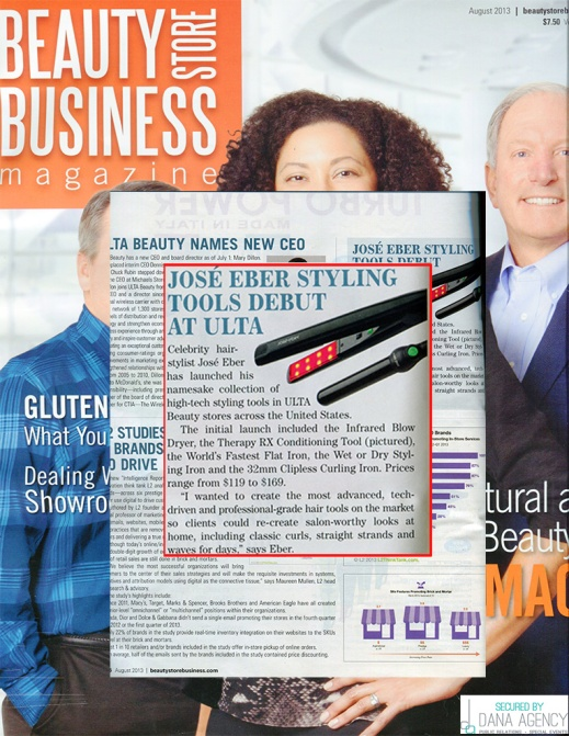 Jose Eber Hair in Beauty Store Business Magazine