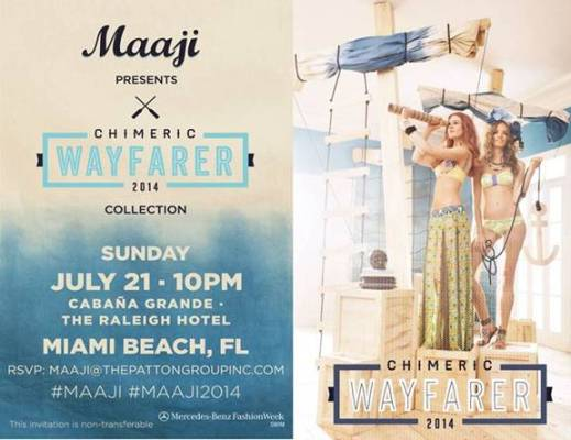 Jose Eber Hair featured at Maaji Swim