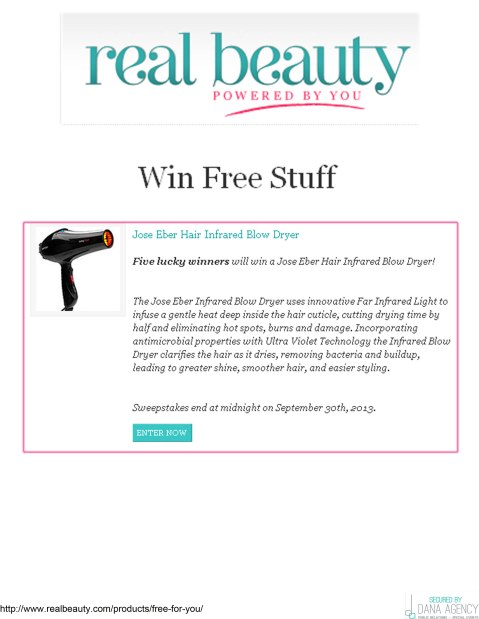 Jose Eber Hair Featured on RealBeauty.com