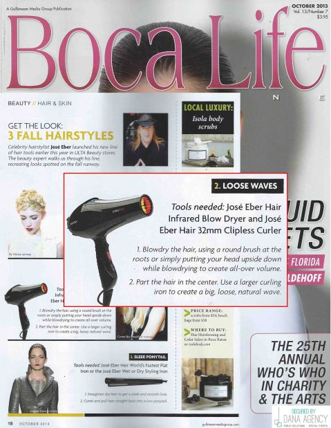 Boca Life Features Jose Eber Hair Tools