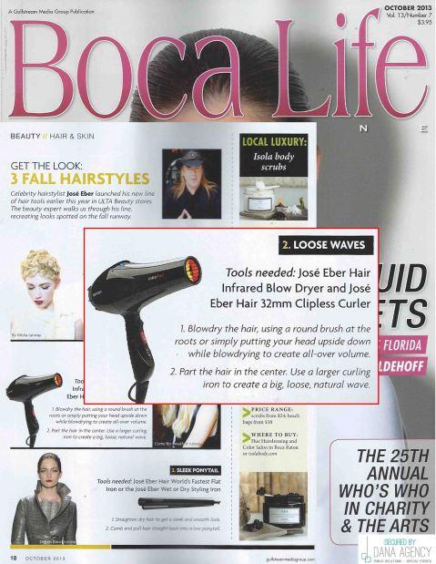 Boca Life Features Jose Eber Hair Tools