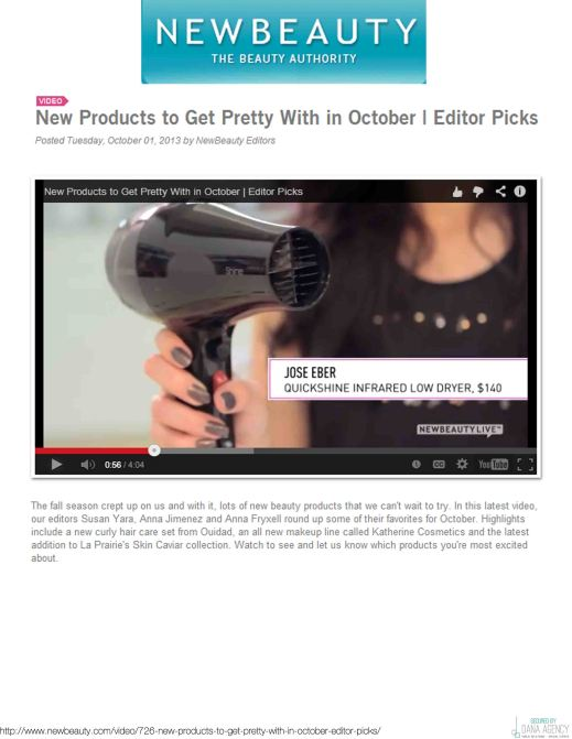Jose Eber Hair Featured On New Beauty