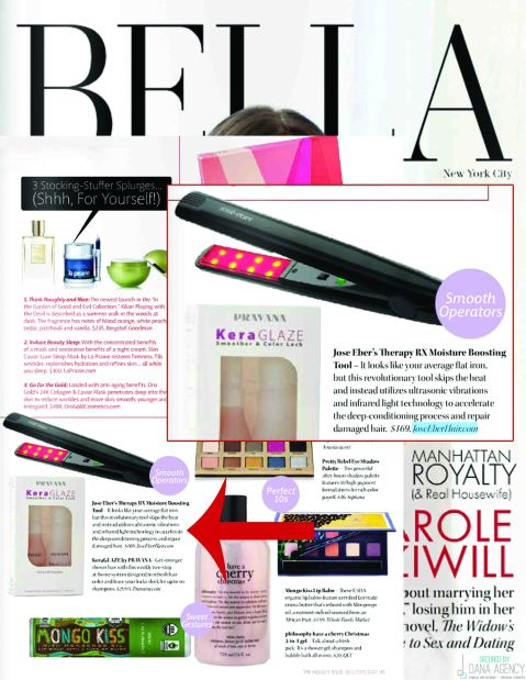 The Jose Eber Therapy RX in Bella NYC Magazine!