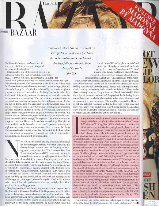 Jose Eber TherapyRX in Harpers Bazaar!