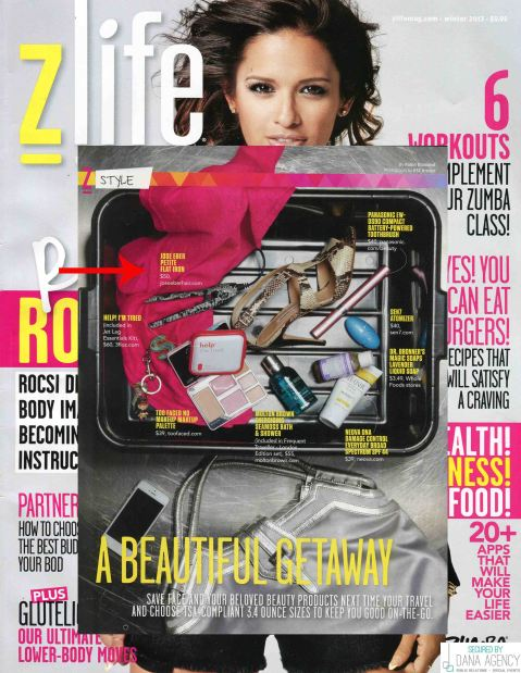 Jose Eber Hair Petite Flat Iron in Zlife Magazine